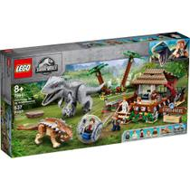 LEGO Jurassic World - A Volta da Girosfera - Indominus Rex Vs. Anquilossauro - 75941 -