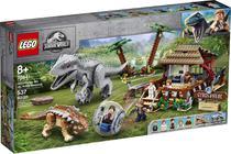 Lego jurassic world indominus rex vs anquilossauro 75941 - 537pcs -