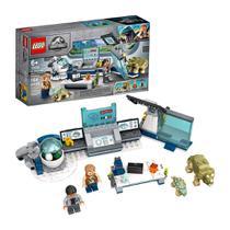 LEGO Jurassic World Laboratório do Dr WU A Fuga dos Dinossauros Bebês 75939 - 164 Peças -