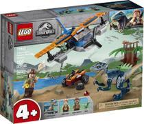 Lego Jurassic World Missão Resgate Velociraptor blue - 75942 -