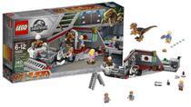 Lego Jurassic World - Perseguição De Raptor No Parque - 75932 -