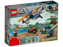 LEGO Jurassic World Velociraptor - Missão de Resgate com Biplano 101 Peças 75942 -