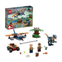 LEGO Jurassic World - Velociraptor: Missão de Resgate com Biplano - 75942  101 Peças -