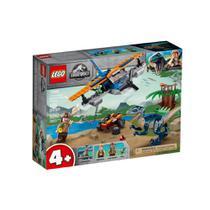 Lego Jurassic World - Velociraptor - Missão de Resgate com Biplano - 75942 - LEGO -