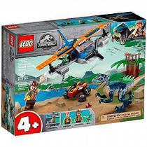 LEGO Jurassic World - Velociraptor: Missão de Resgate com Biplano - 75942 -