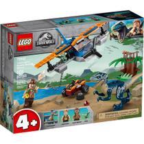LEGO Jurassic World - Velociraptor - Missão de Resgate com Biplano - 75942 -
