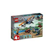 Lego Jurassic World Velociraptor Missão de Resgate com Biplano 75942 -