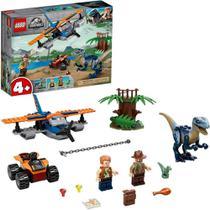 LEGO Jurassic World - Velociraptor: Missão de Resgate com Biplano -