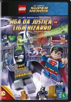 Lego - liga da justiça vs liga bizarro - Warner Home Video