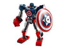 LEGO Marvel Avengers - Armadura Robô do Capitão América 121 Peças 76168