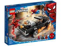 LEGO Marvel Homem-Aranha e Ghost Rider vs. Carnage - 212 Peças 76173