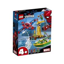 Lego Marvel Spider Man O Assalto Aos Diamantes De Dock Ock 76134