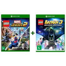 Lego Marvel Super Heroes 2 + Lego Batman 3 Beyond Gotham - Xbox One - Tt Games