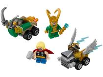 LEGO Marvel Super Heroes - Mighty Micros: Thor vs. Loki 79 Peças 76091