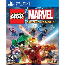 Lego Marvel Super Heroes - Ps4 - Sony