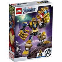 Lego Marvel Super Heroes Robô Thanos 76141  152 Peças -