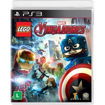 Lego Marvel Vingadores - PS3 - Warner bros