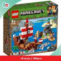 Lego Minecraft 21152 A Aventura do Barco Pirata -