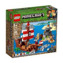 Lego Minecraft - A Aventura do Barco Pirata - 21152 - Lego -