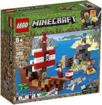 LEGO Minecraft A Aventura do Barco Pirata -