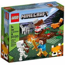 LEGO Minecraft  - A Aventura em Taiga - 21162 -