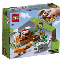 Lego Minecraft A Aventura em Taiga 74 Peças -