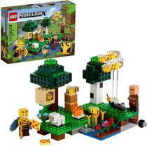 Lego Minecraft  A Fazenda Das Abelhas  238 Peças  21165 -