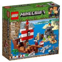 LEGO Minecraft - Aventura no Navio Pirata - 21152 -