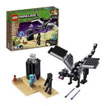 Lego Minecraft Combate do Fim Dragão Ender Dragon - 21151 - 222 Peças -