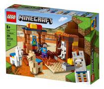 Lego Minecraft O Posto Comercial 201 Peças - Lego 21167 -