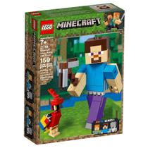 LEGO Minecraft - Steve Gigante e Papagaio - 21148 -