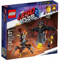 Lego Movie 2 Batman e Barba de Ferro Prontos p Batalha 70836