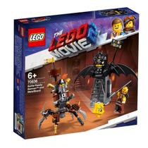 LEGO Movie - Batman e Barba de Ferro Prontos para Batalha