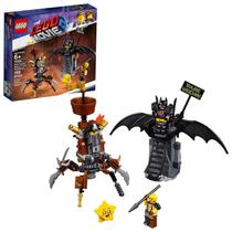LEGO MOVIE Batman e Barba de Ferro Prontos para Combate
