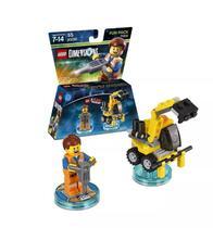 Lego Movie Emmet Fun Pack - Lego Dimensions - Warner Bros