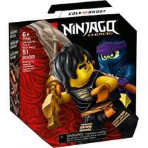 LEGO Ninjago - Conjunto de Combate Épico - Cole vs Guerreiro Fantasma - 71733 -