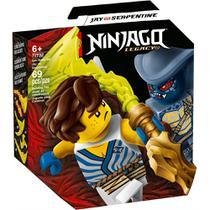 LEGO Ninjago - Conjunto de Combate Épico - Jay vs Serpentine - 71732 -