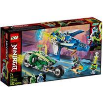LEGO Ninjago - Os Veículos de Corrida do Jay e do Lloyd - 71709 -
