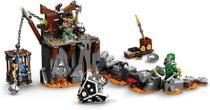 Lego Ninjago Viagem Até As Masmorras Das Caveiras 401 Peças 71717 -