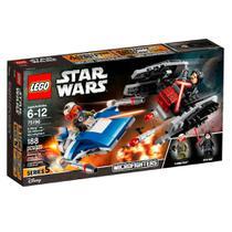 Lego - Star Wars - Microfighters A-wing Vs. Silenciador Tie -