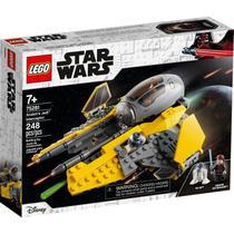 LEGO Star Wars Nave Interceptor Jedi de Anakin 248 Peças 75281 -