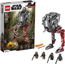 Lego Star Wars The Mandalorian Invasor AT-ST Cara Dune 75254 -