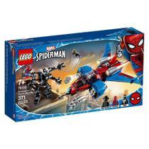 LEGO Super Heroes - Disney - Marvel - Homem Aranha - Spiderjet vs Robô Venom - 76150 -