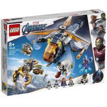 LEGO Super Heroes Marvel - Resgate de Helicóptero dos Vingadores Hulk - 76144 -