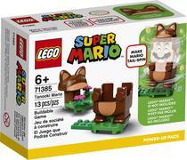 Lego super mario pacote power-up - mario tanuki 71385 -