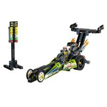 Lego Technic Dragster 2 em 1 Hot Rod 225 Peças 42103 -