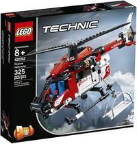 LEGO Technic - Helicóptero de Salvamento 2 em 1 - Lego 42092 -