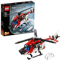 Lego Technic - Helicoptero do Salvamento - 42092 -