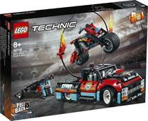 Lego Technic Moto e Caminhão De Acrobacias 610 Peças -