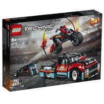 LEGO Technic - Motocicleta e Caminhão de Acrobacias - 42106 -
